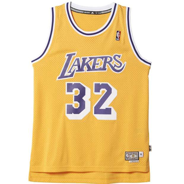 4b452ef85a Camiseta La Lakers Magic Johnson - La Pajarita de Andrés