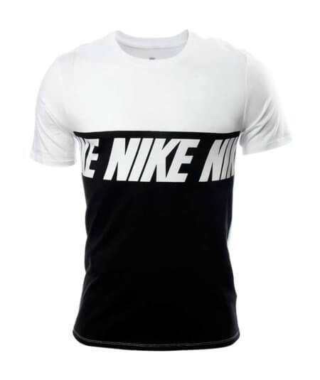 NIKE MEN NSW CAMISETA AV15 BLOCK (NEGRO)