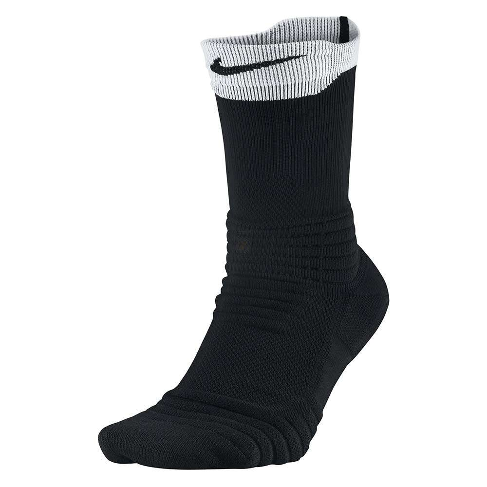 wholesale dealer f789b 014bc Nike Calcetines Elite Versatility Crew Basketball (BLANCO/NEGRO ...