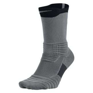 NIKE CALCETINES ELITE VERSATILITY CREW BASKETBALL (GRIS)