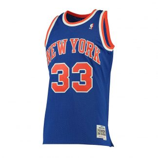 CAMISETA NBA NEW YORK KNICKS PATRICK EWING 33 (AZUL)