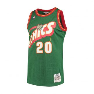 CAMISETA NBA SEATTLE SUPERSONICS GARY PAYTON 20 (VERDE)