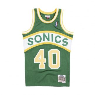 CAMISETA NBA SEATTLE SUPERSONICS SHAWN KEMP 40 (VERDE)