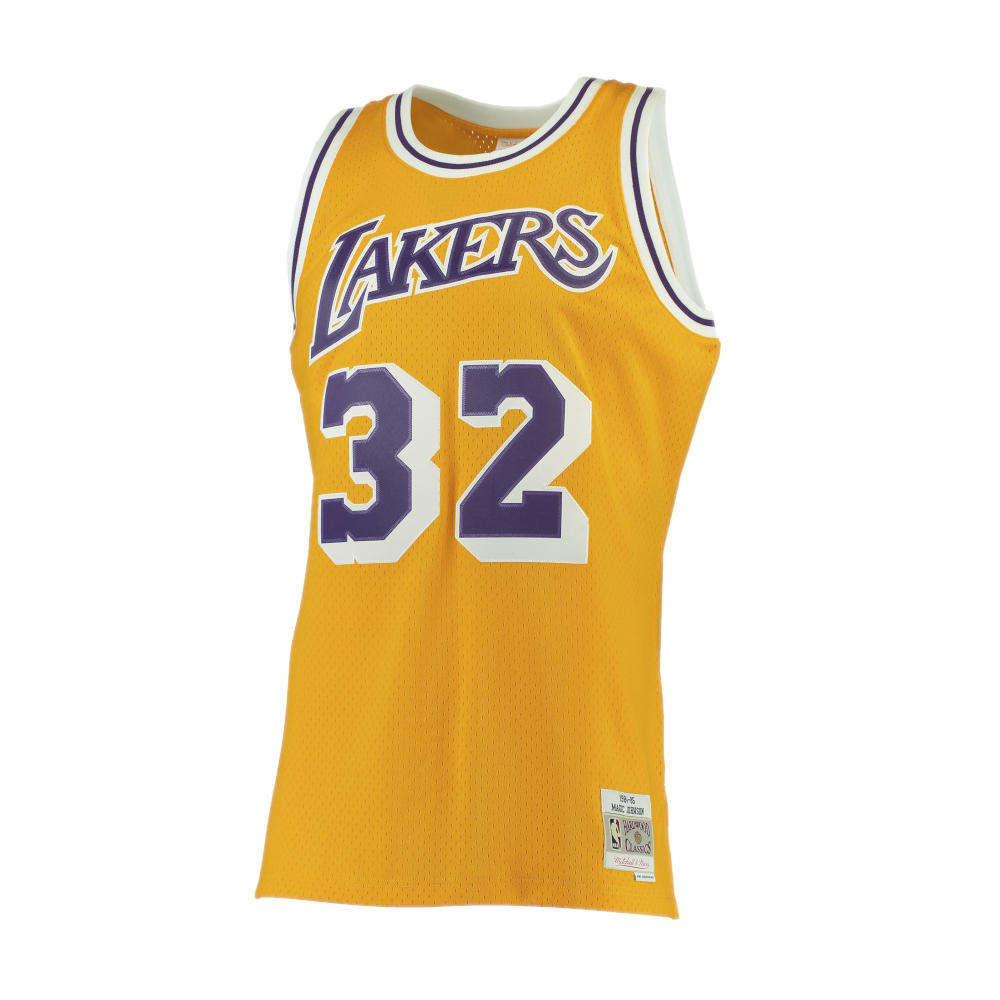 b151af562e Camiseta NBA Lakers Magic Johnson - La Pajarita de Andrés