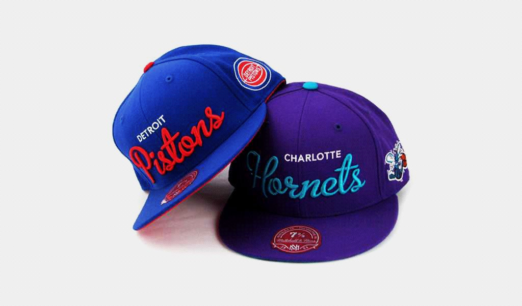 gorras mitchell and ness nba